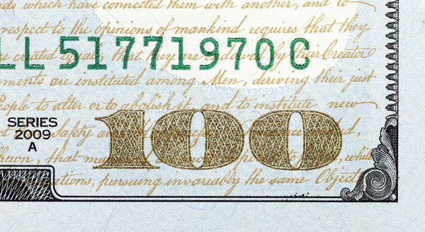 one hundred US dollars Stock photo © avq