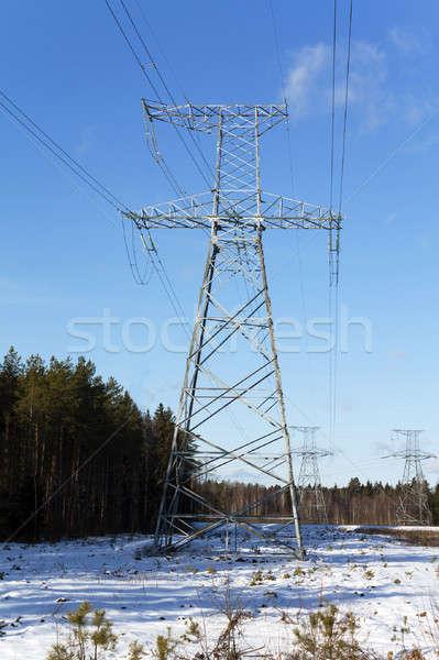 power lines   Stock photo © avq