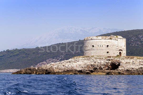 fortress ruins   Stock photo © avq