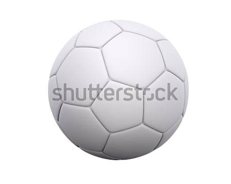 Blank Soccer Ball / Football Stock photo © axstokes