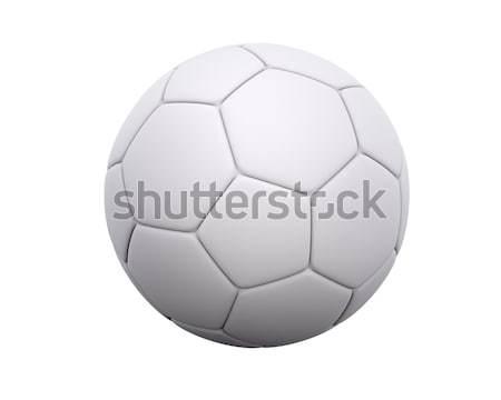 Futballabda futball bőr hatszög Pentagon minta Stock fotó © axstokes