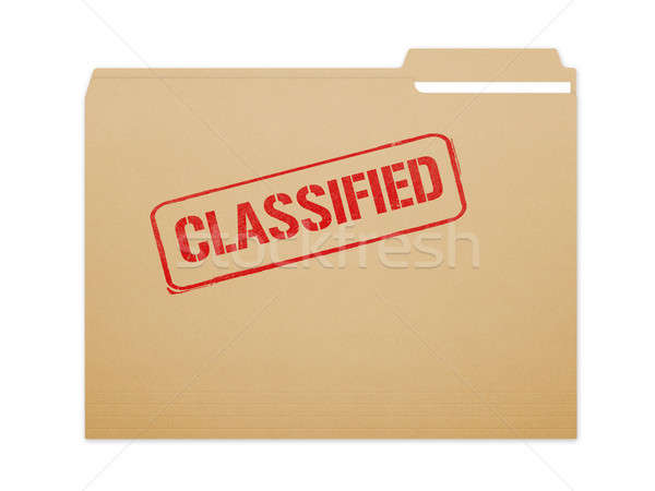 Classified Folder Stock photo © axstokes