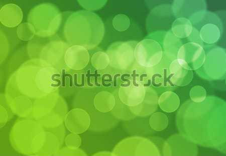 Green Bokeh Light Background Stock photo © axstokes