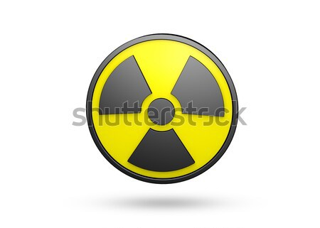 Radiation Sign Stock photo © axstokes