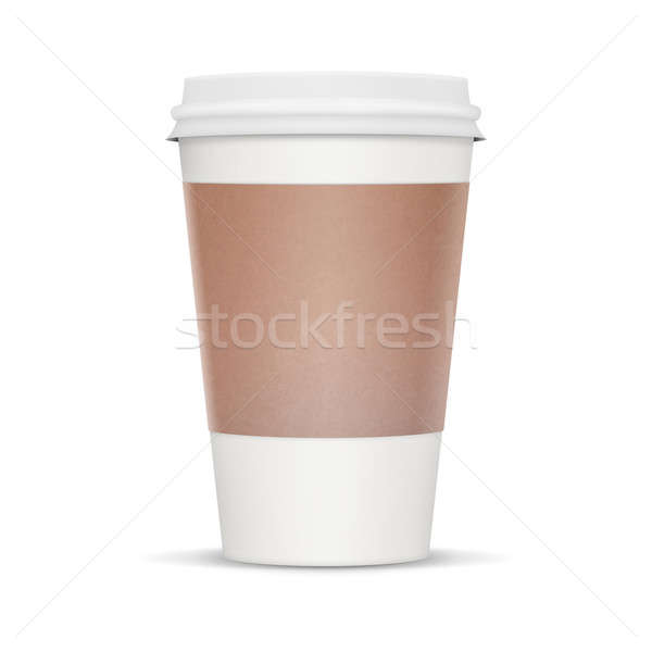Coffee Cup - XL Stock photo © axstokes