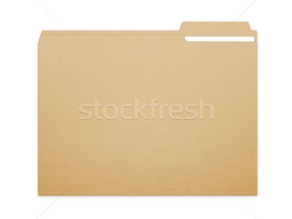 Folder File Stock photo © axstokes