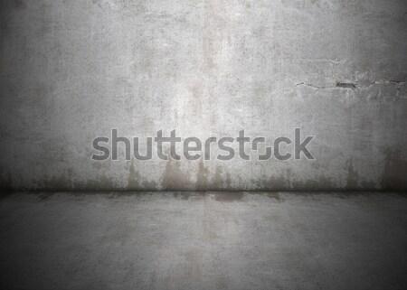 Sale mur à l'intérieur concrètes Photo stock © axstokes