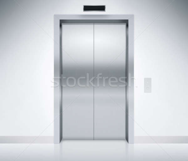 Elevator Doors Closed Stock photo © axstokes