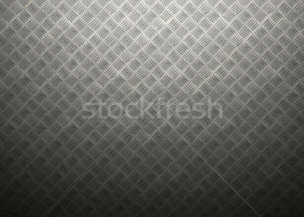 Fém markolás rrácsozat atmoszferikus fény nagyszerű Stock fotó © axstokes