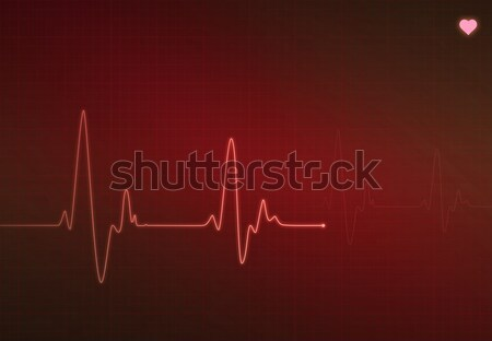 Stock photo: Critical Heart Condition