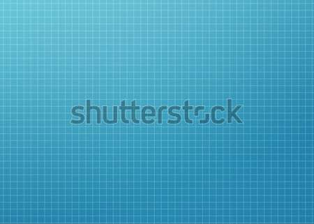 Modern Blueprint Grid Stock photo © axstokes