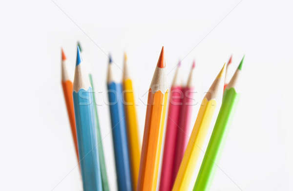 Colored Pencils Stock photo © axstokes