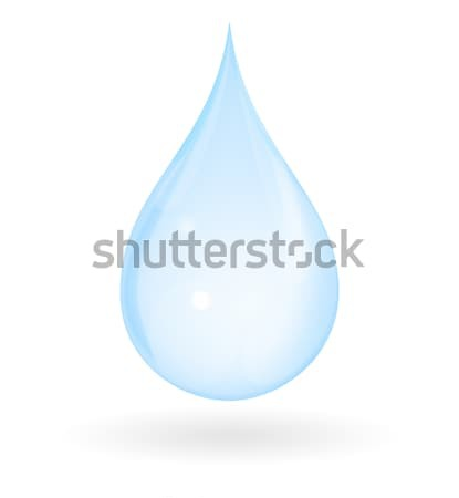 Pure Water Drop Stock photo © axstokes