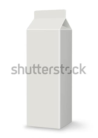 Blank Carton - Milk or Juice - XL Stock photo © axstokes