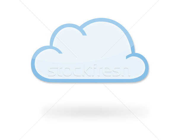 Cloud Icon Stock photo © axstokes