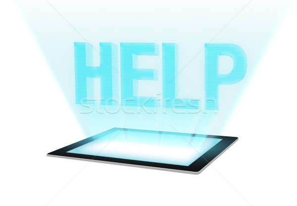 Help - Technical Support Stock photo © axstokes