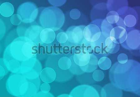 Blue Bokeh Light Background Stock photo © axstokes
