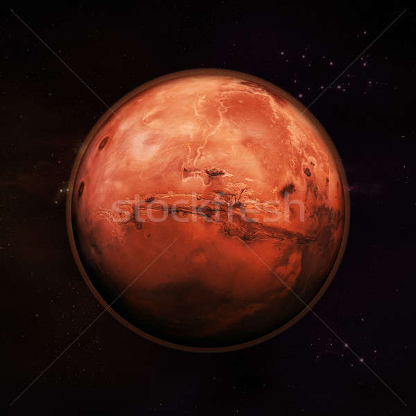 Mars - The Red Planet Stock photo © axstokes