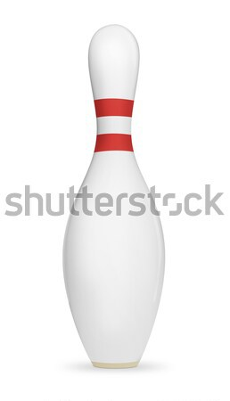 Bowling Pin Stock photo © axstokes