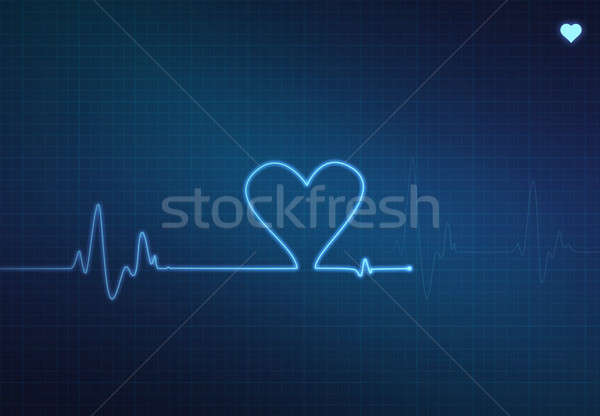 Stock photo: Heart Monitor