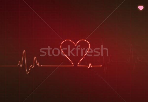 Stock photo: Critical Heart Condition