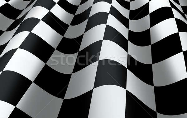 Checkered Flag Stock photo © axstokes