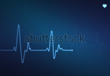 Heartbeat Monitor Stock photo © axstokes