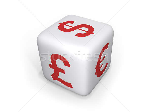 Currency Dice - XL Stock photo © axstokes