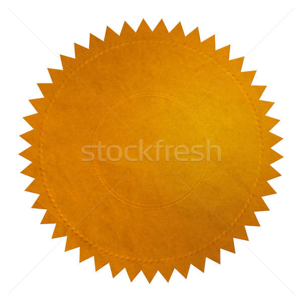 Gold Seal - XL Stock photo © axstokes