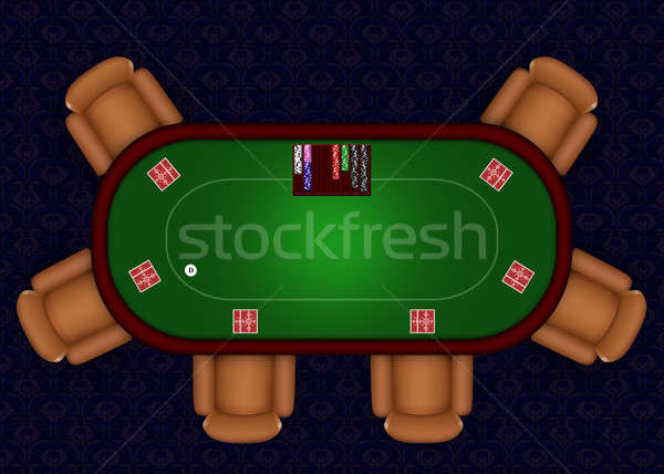 Stock photo: Online Poker