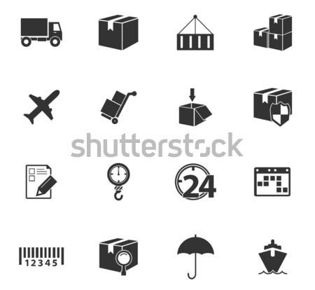送料 配信 アイコン 単に ウェブ ユーザー ストックフォト © ayaxmr