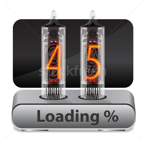 Loading Progress Indicator Stock photo © ayaxmr