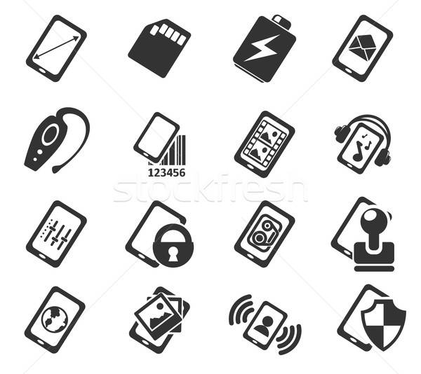 Smartphone,  specifications and functions Stock photo © ayaxmr