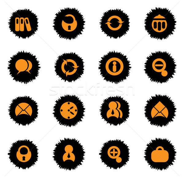 Escritório teia usuário interface negócio Foto stock © ayaxmr