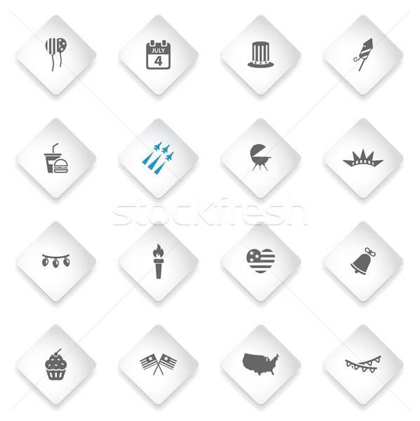 日 単に アイコン シンボル webアイコン カレンダー ストックフォト © ayaxmr