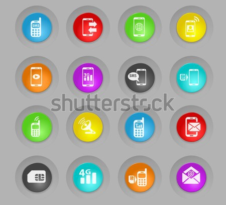 Social Media Icons Stock photo © ayaxmr