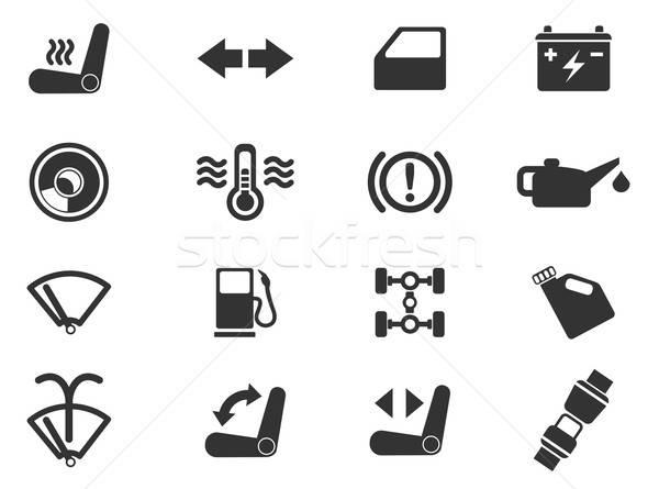 Car interface sign Stock photo © ayaxmr