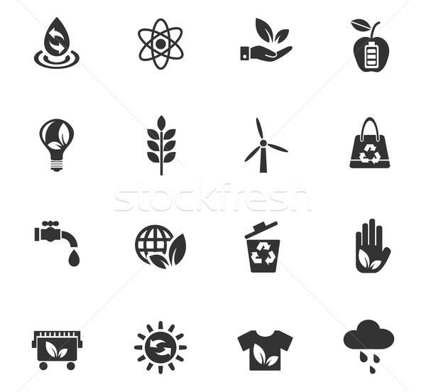 Autre énergie icônes web utilisateur interface Photo stock © ayaxmr