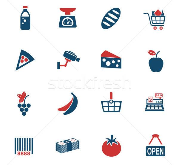 Iconos de la web usuario interfaz diseno Foto stock © ayaxmr
