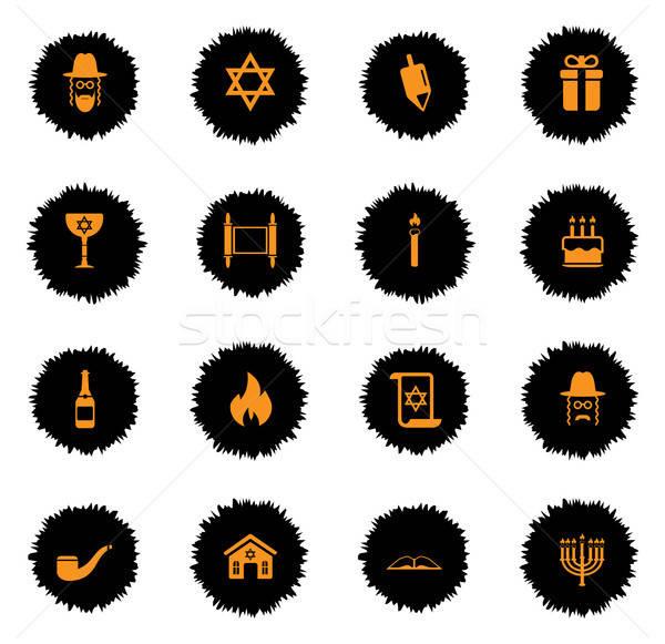 Eenvoudig iconen vector web gebruiker interface Stockfoto © ayaxmr