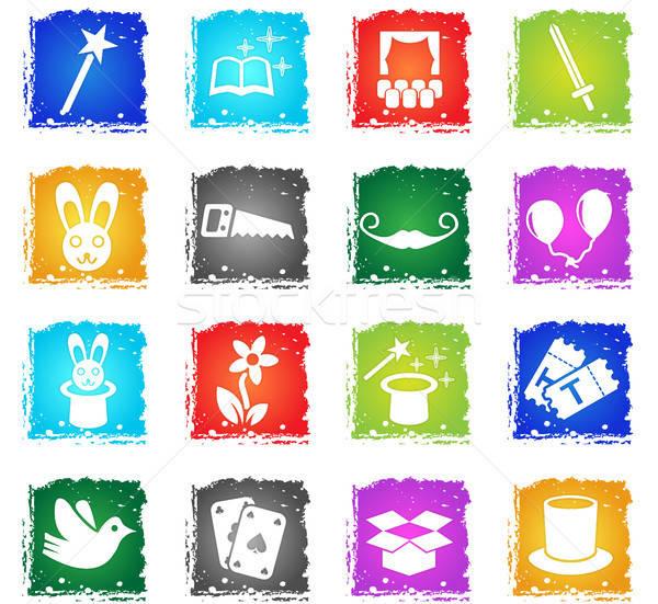 魔法 webアイコン グランジ スタイル ユーザー ストックフォト © ayaxmr