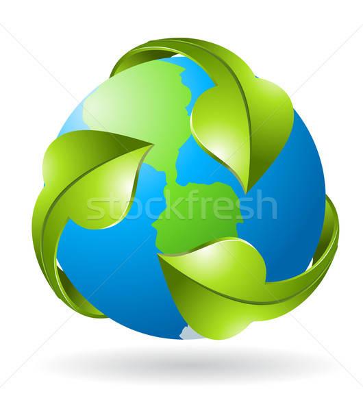 green earth Stock photo © ayaxmr