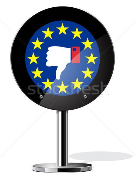 британский референдум знак символ бизнеса Сток-фото © ayaxmr