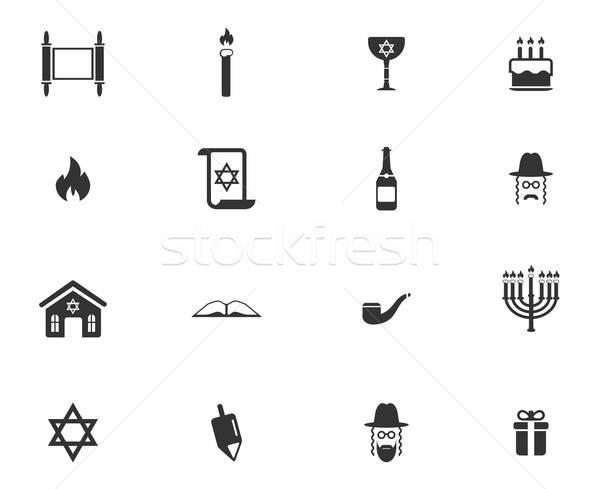 Po prostu ikona symbol web ikony użytkownik interfejs Zdjęcia stock © ayaxmr