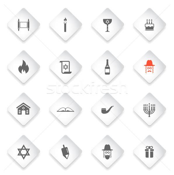 Simplesmente ícones símbolo os ícones do web usuário interface Foto stock © ayaxmr