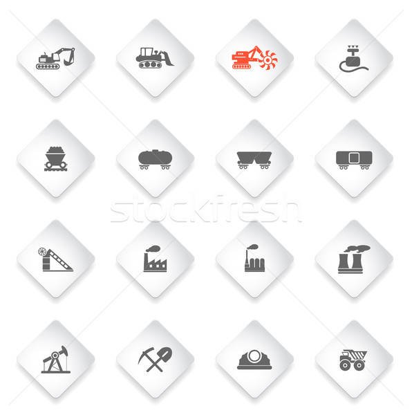 Stock photo: Factory and Industry Symbols