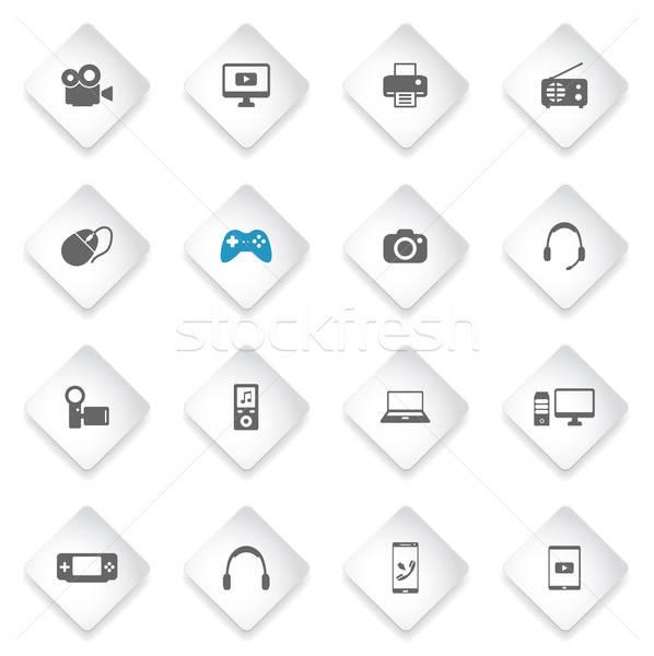 просто иконки символ веб-иконы пользователь Сток-фото © ayaxmr