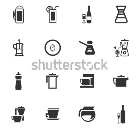 Utensils for the preparation of beverages Stock photo © ayaxmr