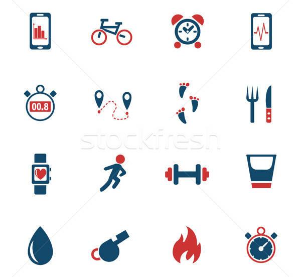 Aplicaciones iconos de la web usuario interfaz Foto stock © ayaxmr