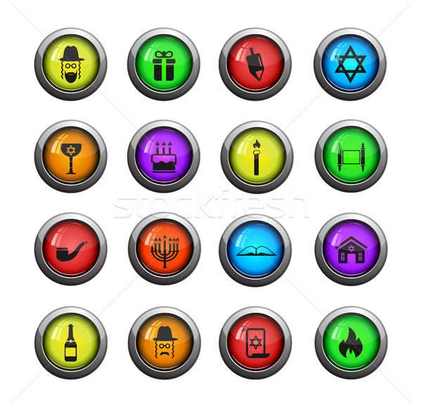 Simplement icônes web utilisateur interface Photo stock © ayaxmr